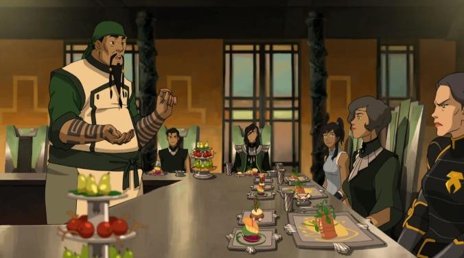 Eating in Zaofu