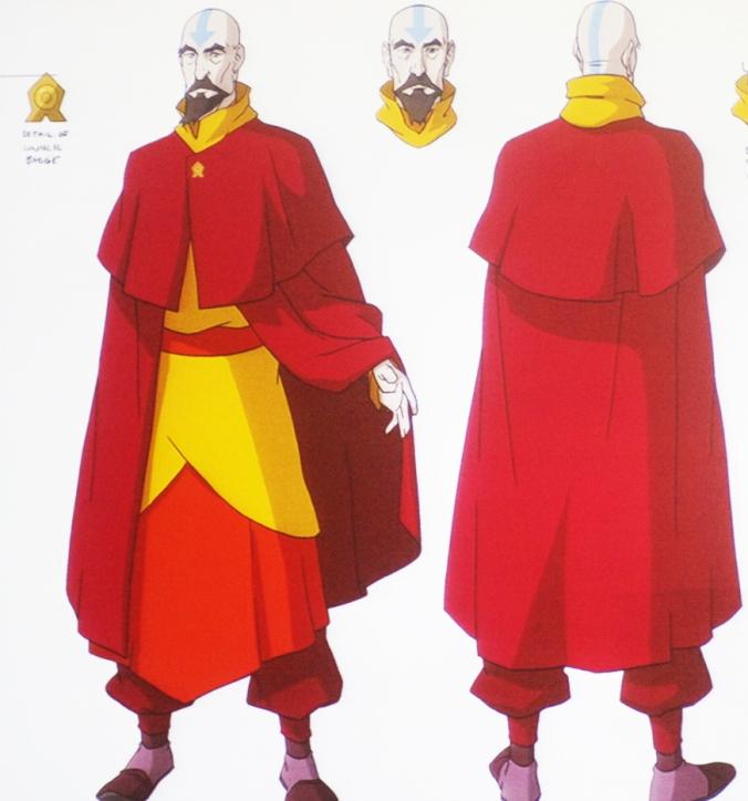 Tenzin's robes