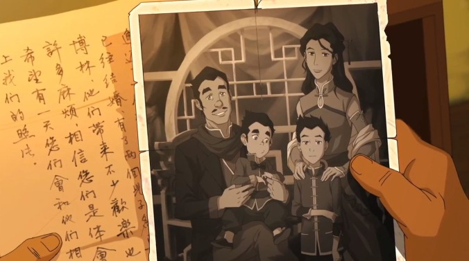 An old letter and photograph from Mako and Bolin's father